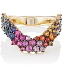 Ana Khouri - Multicolor Simplicity Ring - Lyst