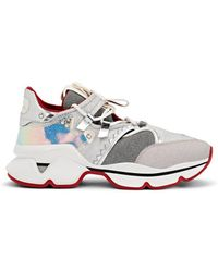 best sneakers 87150 83f54 Red Runner Donna Leather Sneaker - Metallic