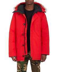 Canada Goose - Chateau Down Hooded Parka - Lyst