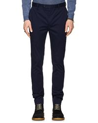 John Varvatos - Stretch-cotton Trousers - Lyst