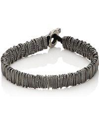 M. Cohen - Bar Beaded Bracelet - Lyst
