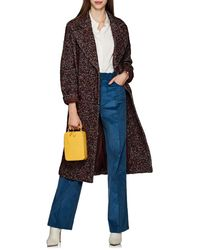 Ulla Johnson - Frances Flecked Tweed Double-breasted Coat - Lyst