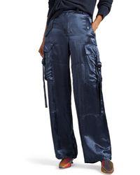 Sies Marjan - Sammie Washed Satin Cargo Pants - Lyst