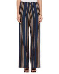 Zero + Maria Cornejo - Eda Striped Pants - Lyst