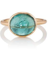 Irene Neuwirth Indicolite Tourmaline Ring - Green