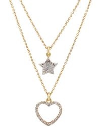 Renee Lewis - Star- & Heart-pendant Two-tier Necklace - Lyst