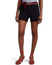 Rag & Bone Buckley Cotton Chino Shorts - Black