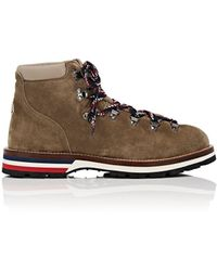 Moncler Peak Suede Hiking Boots - Brown