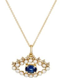 Ileana Makri | Eye Pendant Necklace | Lyst