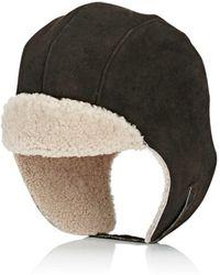 Crown Cap - Aviator Sheepskin Hat - Lyst