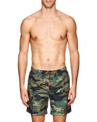 Sundek - Camouflage Swim Trunks - Lyst