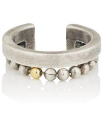 Title Of Work - Sterling Silver & Yellow Gold Cuff Ring - Lyst