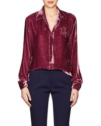 Juan Carlos Obando - Velvet Shirt - Lyst