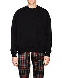 Fear Of God - Cotton Terry Oversized Sweatshirt - Lyst