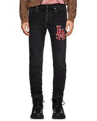Gucci La Angelstm Slim Jeans - Black