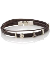 Zadeh Kelly Wrap Bracelet - Brown