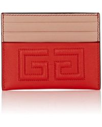 Givenchy - Emblem Leather Card Case - Lyst