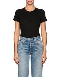 RE/DONE - Cotton Jersey Bodysuit - Lyst