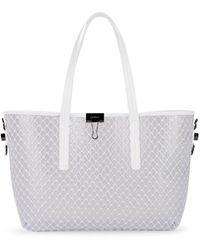 2e34f493b Off-White c/o Virgil Abloh Logo Printed Pvc Tote Bag in White - Save 11% -  Lyst