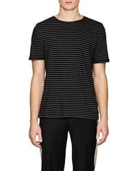 Vince - Striped Cotton T - Lyst