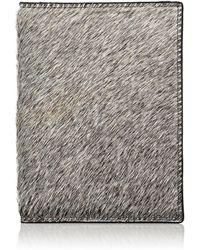 Barneys New York - Haircalf Passport Case - Lyst