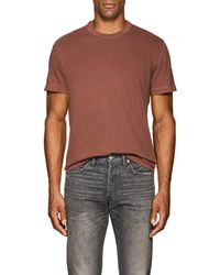 James Perse - Cotton Jersey T-shirt - Lyst