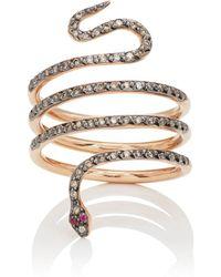 Ileana Makri - Single Python Ring - Lyst