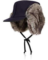 Lola Hats | Woodsman Wool Trapper Hat | Lyst