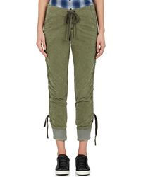 Greg Lauren - Stacked Lounge Cotton Pants - Lyst