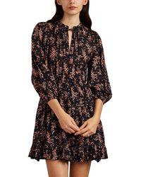 Ulla Johnson - Brienne Floral Cotton-silk Dress - Lyst