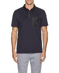 Aztech Mountain - maroon Creek Cotton-blend Polo Shirt - Lyst