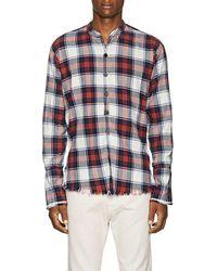 Greg Lauren - Plaid Cotton Flannel Studio Shirt Size 2 - Lyst