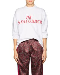 Opening Ceremony - the Style Council Cotton Sweatshirt - Lyst