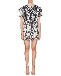 Sir. The Label - Bellagio Floral Silk Dress - Lyst