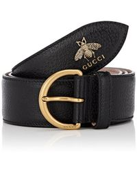 7dc7e5e23b0 Lyst - Gucci Canvas Web Belt With Bee Buckle in Green for Men