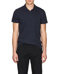 Theory - Willem Cotton Polo Shirt - Lyst
