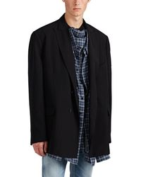 Balenciaga - Oversized Double-breasted Sportcoat - Lyst