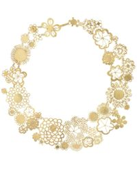 Judy Geib - Flowery Erewhon Collar Necklace - Lyst