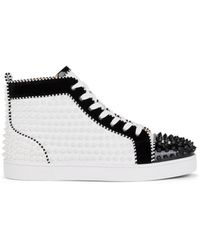 quality design 0dcb5 59568 Louis Spikes 2 Flat Trainers - White