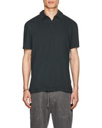 James Perse - Supima® Cotton Polo Shirt - Lyst