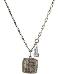 Feathered Soul - Aztec Pendant Necklace - Lyst
