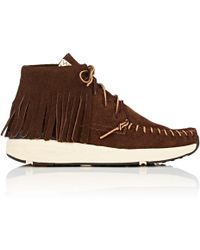 Visvim - Yucca Moc Shaman Suede Moccasin Sneakers - Lyst