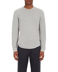 Vince - Thermal-knit Cotton T - Lyst