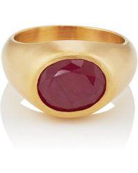 Eli Halili - Ruby Dome Ring - Lyst