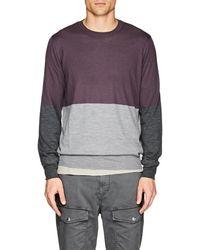 Brunello Cucinelli - Cashmere Colorblocked Sweater - Lyst