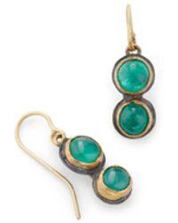 Judy Geib - Colombian Emerald Drop Earrings - Lyst