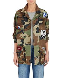 Icons   Camouflage Cotton Twill Field Jacket   Lyst