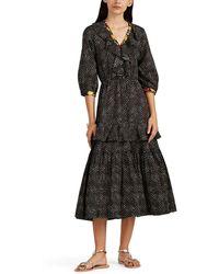 Warm - Sierra Floral Cotton Long Dress - Lyst