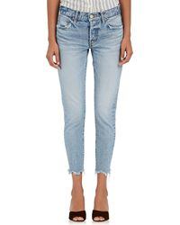 Moussy - Loa Tapered Jeans - Lyst