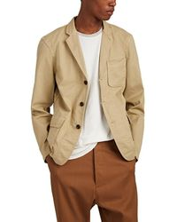 Alex Mill - Cotton Twill Three-button Sportcoat - Lyst